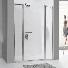 Стенка для душа Sanplast Prestige III SS2/PR III 40s, manhatan цена и информация | Двери и стенки для душа | 220.lv
