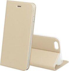 Sāniski atverams maciņš Blow Etui priekš Apple iPhone 5, Apple iPhone 5S, Apple iPhone SE, Zeltains