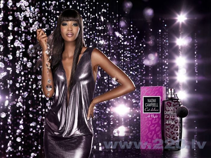 Tualetes ūdens Naomi Campbell Cat Deluxe at Night edt 15 ml internetā