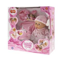 Interaktīvā lelle ar aksesuāriem, Smiki 40 cm cena un informācija | Rotaļlietas meitenēm | 220.lv
