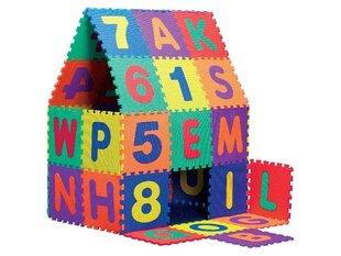 Attīstošs paklājiņš - puzle XXXL, 30x30 cm, 72 daļas