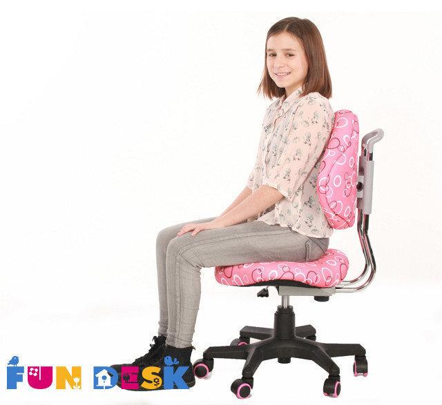 Детское кресло FunDesk SST5, розовое
