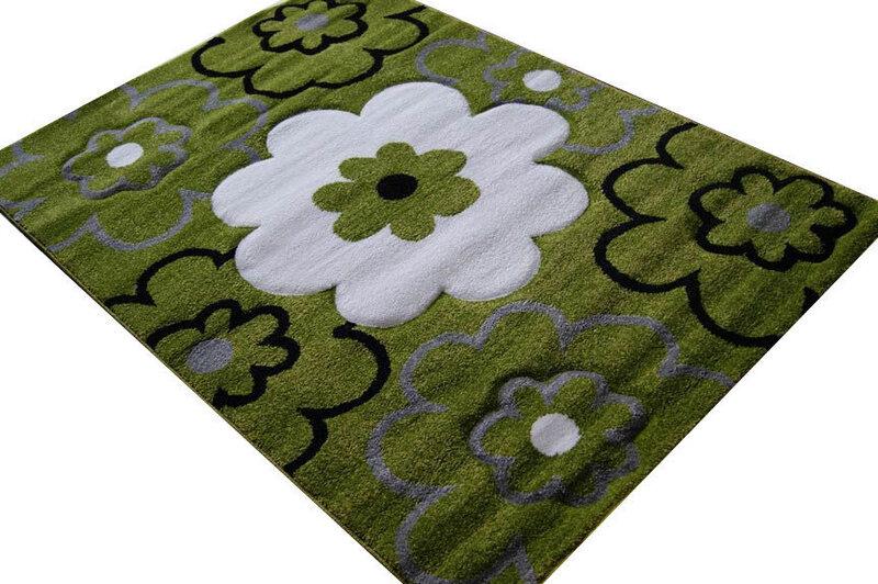 Bērnu paklājs Ziedi, 133 x 190 cm
