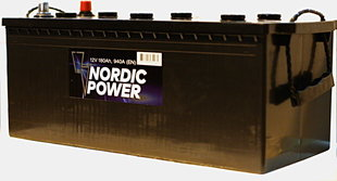 Nordic Power 180 Ah 940A 12V