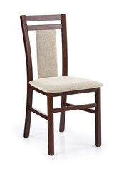 Комплект стульев Hubert 8, темный орех (2 шт.)