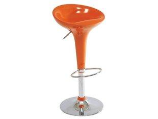 Bāra krēslu komplekts A-148, oranžs (2 gab.)