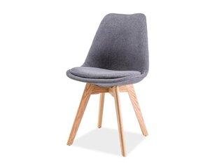 Комплект из 4 стульев Dior, тёмно-серый