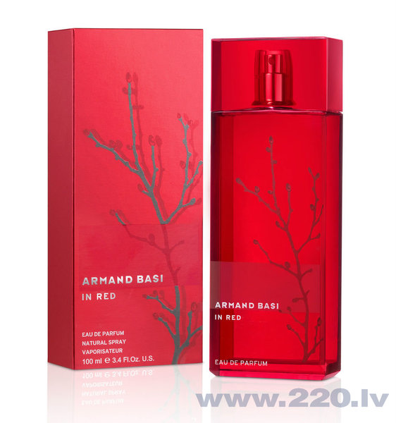 Parfimērijas ūdens Armand Basi In Red ED 100 ml cena