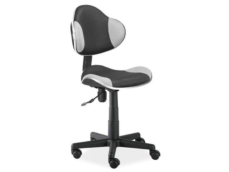 Офисное кресло Q-G2, черное / серое