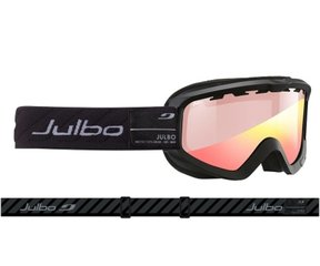 Slēpošanas brilles Julbo Bangnext Zebra Light, juodi/pilki