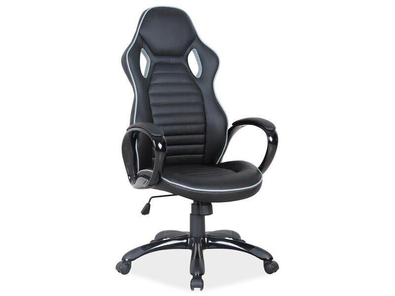 Офисное кресло  Q-105, черное / серое