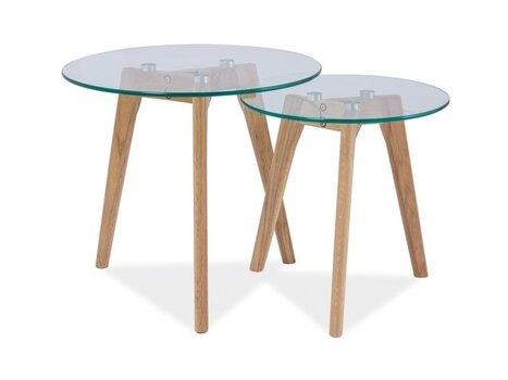 2 galdu komplekts Oslo S2