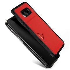 Dux Ducis Pocard Series Premium maciņš priekš Samsung G950 Galaxy S8 Sarkans