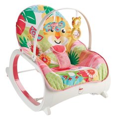 Детское кресло-качалка Fisher Price Infant to Toddler Rocker, pink