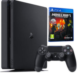 Sony Playstation 4 Slim 500GB Black + Minecraft