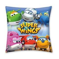 Декоративная наволочка Super Wings цена и информация | Декоративные подушки и наволочки | 220.lv