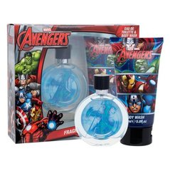 Komplekts Marvel Avengers: edt 75 ml + dušas želeja 150 ml