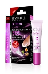 Nagu un kutikulu balzams Eveline Cosmetics Nail Therapy Professional X-treme Care Nail & Cuticle 12 ml