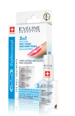 Быстросохнущий топ Eveline Cosmetics Nail Therapy Professional 3 in 1 12 мл