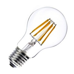 LED filament spuldze 8W E27 220-240V Greelux