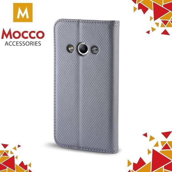 Mocco Smart Magnet maciņš priekš Huawei P10 Sudrabains cena