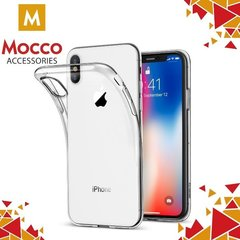 Mocco Ultra Back Case 0.3 mm maciņš priekš Apple iPhone X Caurspīdīgs
