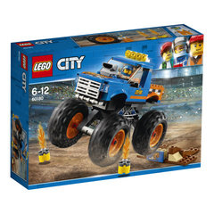 60180 LEGO® City Great Vehicles Monster Truck Монстрогрузовик