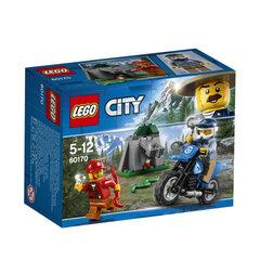 60170 LEGO® City Police Off-Road Chase Pakaļdzīšanās uz džipiem cena un informācija | LEGO® | 220.lv
