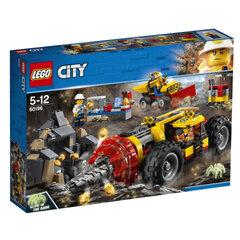 60186 LEGO® City Mining Heavy Driller Kalnraču urbjmašīna