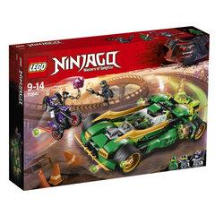 70641 LEGO® NINJAGO® Ninja Nightcrawler Ночной ниндзя цена и информация | Конструкторы | 220.lv