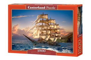 Пазл Puzzle Castorland Sailing at Sunset, 1500 дет.