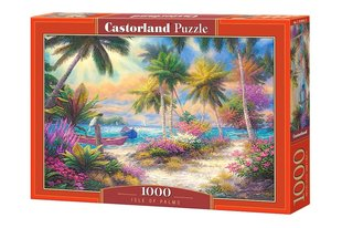 Puzle Puzzle Castorland Isle of Palms, 1000 det. cena un informācija | Puzles, 3D puzles | 220.lv