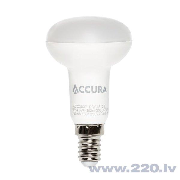 LED spuldze Accura Premium R50, E14, 6 W
