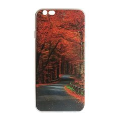 Mocco Trendy Autumn Road Silicone Back Case for Apple iPhone 7 Plus / 8 Plus