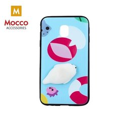 Mocco 4D Silikone Back Case For Mobile Phone With Seal For Apple iPhone 5 / 5S / SE cena un informācija | Maciņi, somiņas | 220.lv