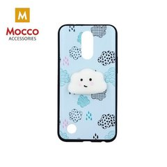 Mocco 4D Silikone Back Case For Mobile Phone With Cloud For iPhone 6 / 6S