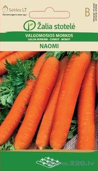 Galda burkāni NAOMI cena un informācija | Dārzeņu, ogu sēklas | 220.lv