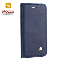Mocco Smart Focus Book Case For Apple iPhone X Blue
