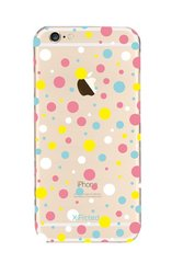 X-Fitted Plastic Case for Apple iPhone 7 / 8 Colorful dot