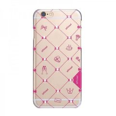 X-Fitted Plastic Case With Swarovski Crystals for Apple iPhone 6 / 6S Pink / Relationship