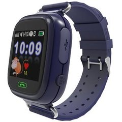Smart GPS pulkstenis Gudrutis R9, Tumši zils
