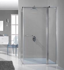 Stūra dušas kabīne Sanplast Prestige III KNDJ2/PR III 75x100s, Profils bahama gaiši brūns