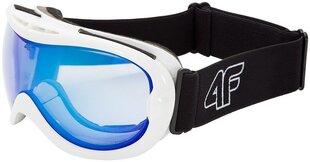 Slēpošanas aizsargbrilles 4F GGD001, melnas