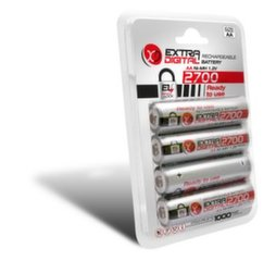 Baterijas AA 2700 mAh READY TO USE (4gab)
