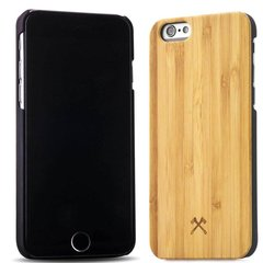 Aizmugurējais apvalks Woodcessories Bamboo ECO014 priekš Apple iPhone 6, Apple iPhone 6s