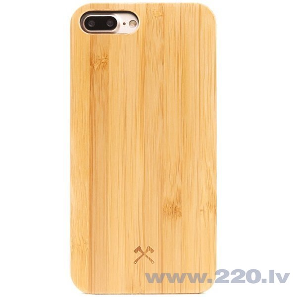 Aizmugurējais apvalks Woodcessories Bamboo eco121 priekš Apple iPhone 7plus, Apple iPhone 8plus cena