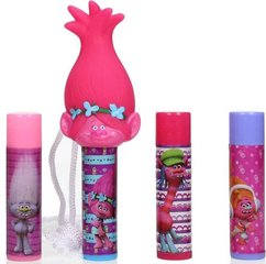 Бальзам для губ с игрушкой Corsair DreamWorks Trolls 4 Lip Balms & Poppy Topper