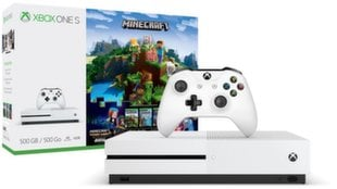 Microsoft Xbox One S 500GB + MINECRAFT+ Minecraft Story Mode