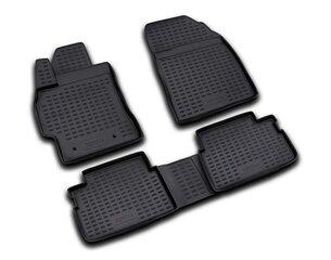 3D TOYOTA Auris 2006-2012, 4 pcs. /L62030 цена и информация | Модельные резиновые коврики | 220.lv