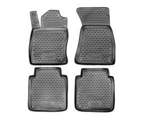 3D AUDI A8 Long 2002-2009, 4 pcs. /L03008G /gray cena un informācija | Gumijas paklājiņi pēc auto modeļiem | 220.lv